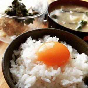 コッコファームの卵かけご飯