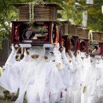 阿蘇神社参道 御田祭り(阿蘇市)